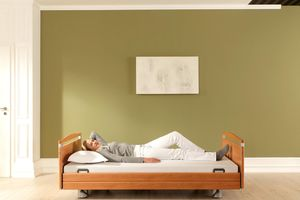 Low-height beds such as our Venta contribute to fall prevention.