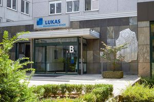 Modern and inviting: the Lucas Hospital in Bünde.
