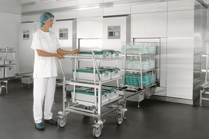 Solutions for bed cleaning and disinfection.