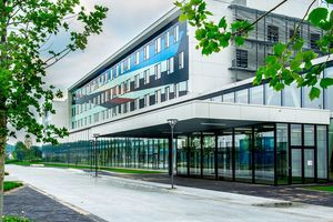 The new University Hospital AZ Sint Maarten in Mechelen, Belgium opened in October 2018. Photo: AZ Sint-Maarten