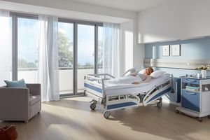 The Evario is a hospital bed for all wards.