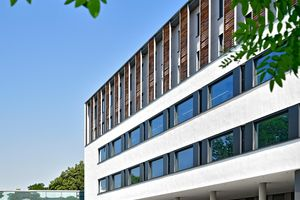 House 32 is the new operative center of the University Hospital Dresden. Photo: UKD/Thomas Albrecht