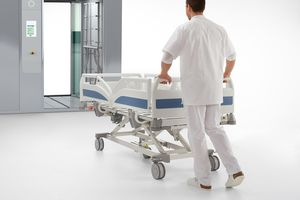 Our machine-washable hospital beds contribute to optimal hygiene.