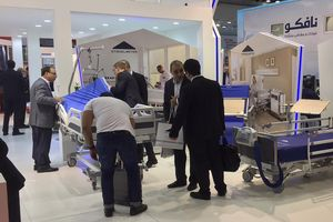 For the Arab Health we cooperate with our local partner and present our hospital bed Evario at the Atlas Medical stand in its own Stiegelmeyer area.