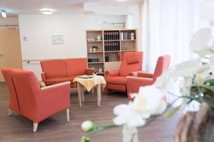 The Röttgersbach senior citizens' centre opened in 2016 and is furnished in a very homely way.