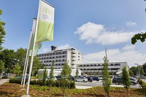 The Marienhospital in the beautiful Münsterland region of Germany is modern and inviting. Photo: Marienhospital