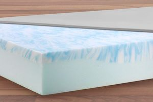 The wave cut of the Sky-therm® mattress provides particularly effective protection for pressure-sensitive areas of the body.