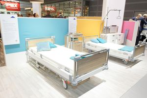 Our modern hospital beds promote recovery.