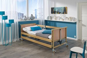 Machine-washable beds for caring in the home
