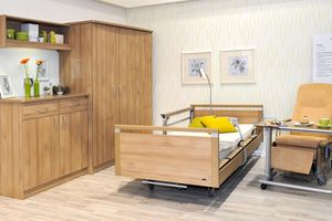 Stiegelmeyer contract furniture can be used to furnish individual care rooms.