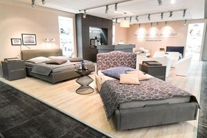 Our comfort beds are very popular at trade fairs.