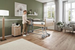 Stiegelmeyer care beds with the flexible Vario Safe system are very popular in the Netherlands.